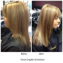 Thickening Hair Using Hair Extensions