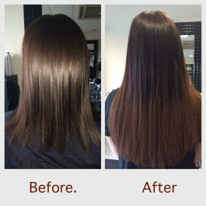 Extensions great lengths ombre