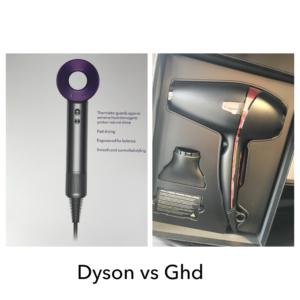 Dyson vs GHD