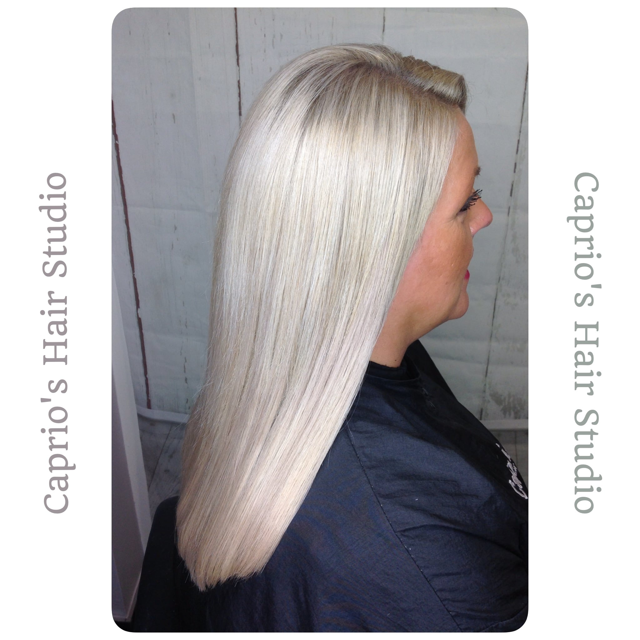 Ice Blonde Hair by Caprios