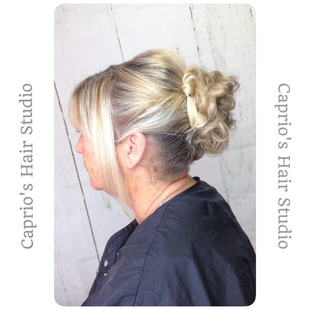 Blonde Hair Up Transformation