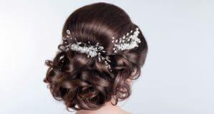 Wedding Bridal Prom Hair