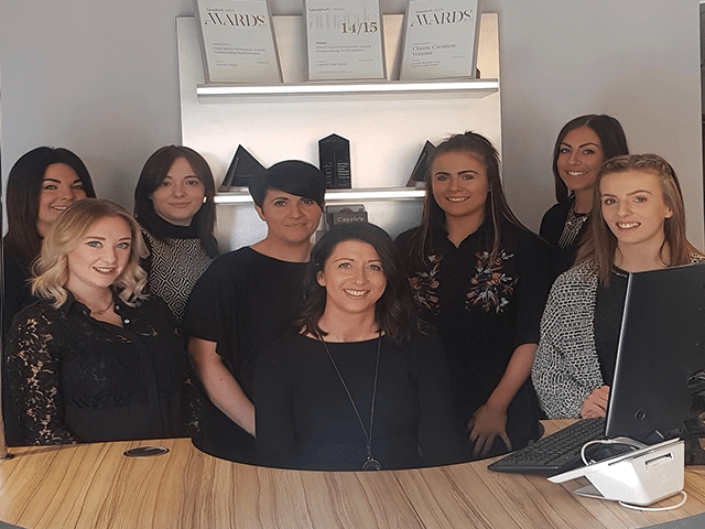 Caprio's Hair Studio Team