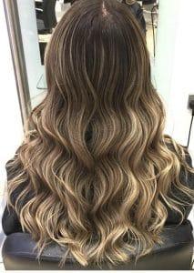 Curly Balayge