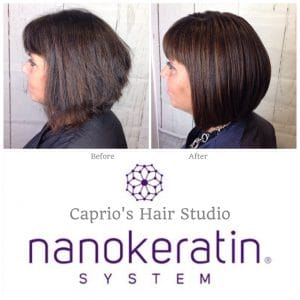 Hazel - Nanokeratin Before and After