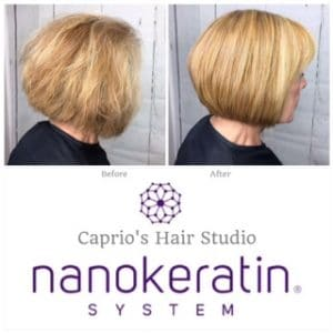 Nanokeratin Before and After