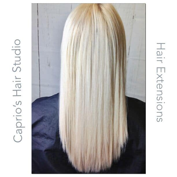 After - Hair Extensions