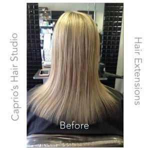 Before Hair Extensions