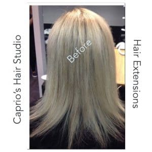 Before - Hair Extensions