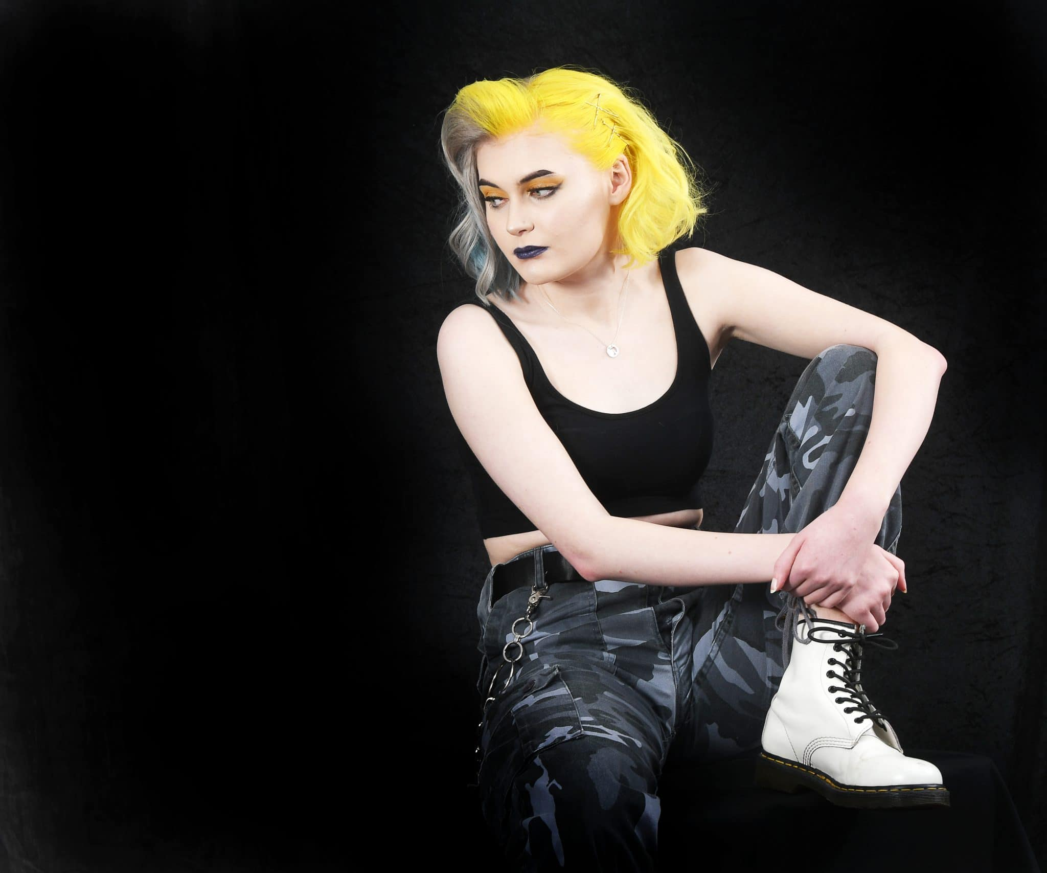Bright Yellow Hair