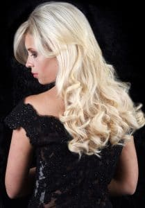 Elegance Collection - Blonde Curly Hair Style