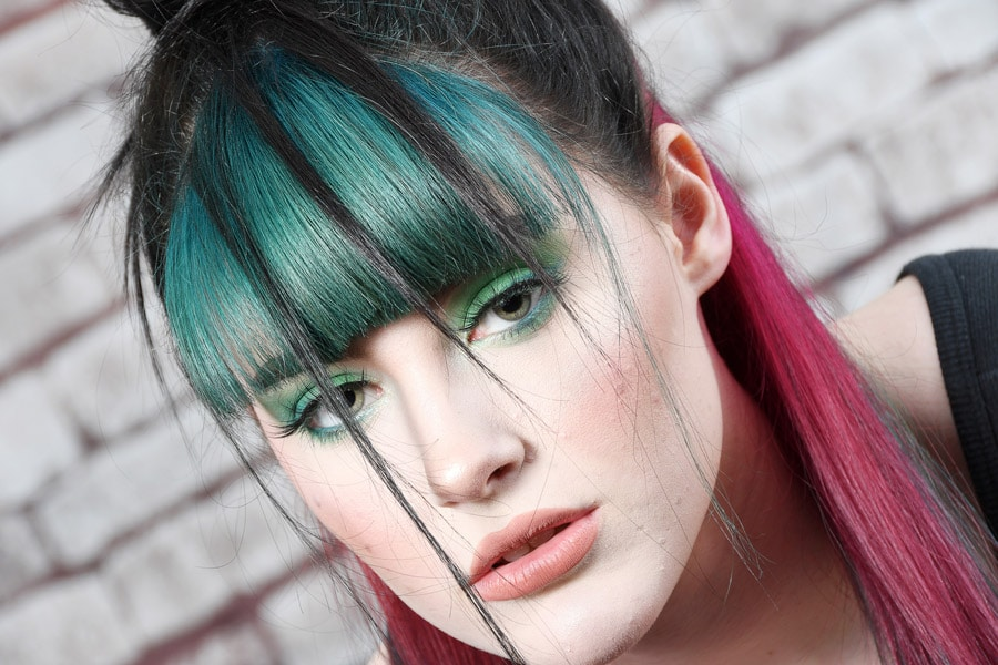 Collection 1 - Green and Pink Hair