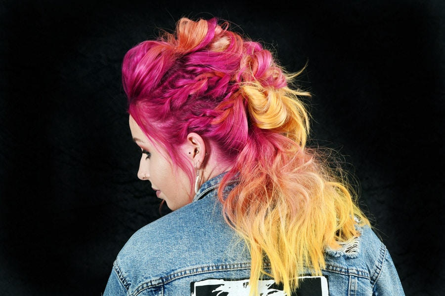 Collection 3 - Pink and Yellow Hair