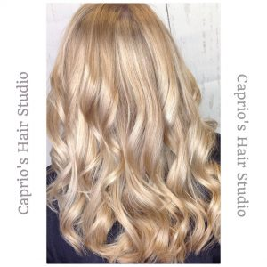 Blonde Hair Colouring