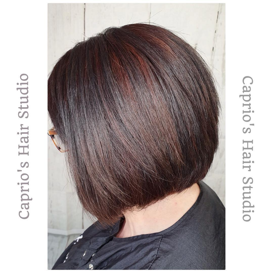 Short Hair Colouring