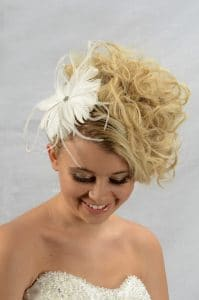 Wedding Collection - Hair Up with Fascinator