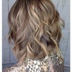 Bronde Curly Hair