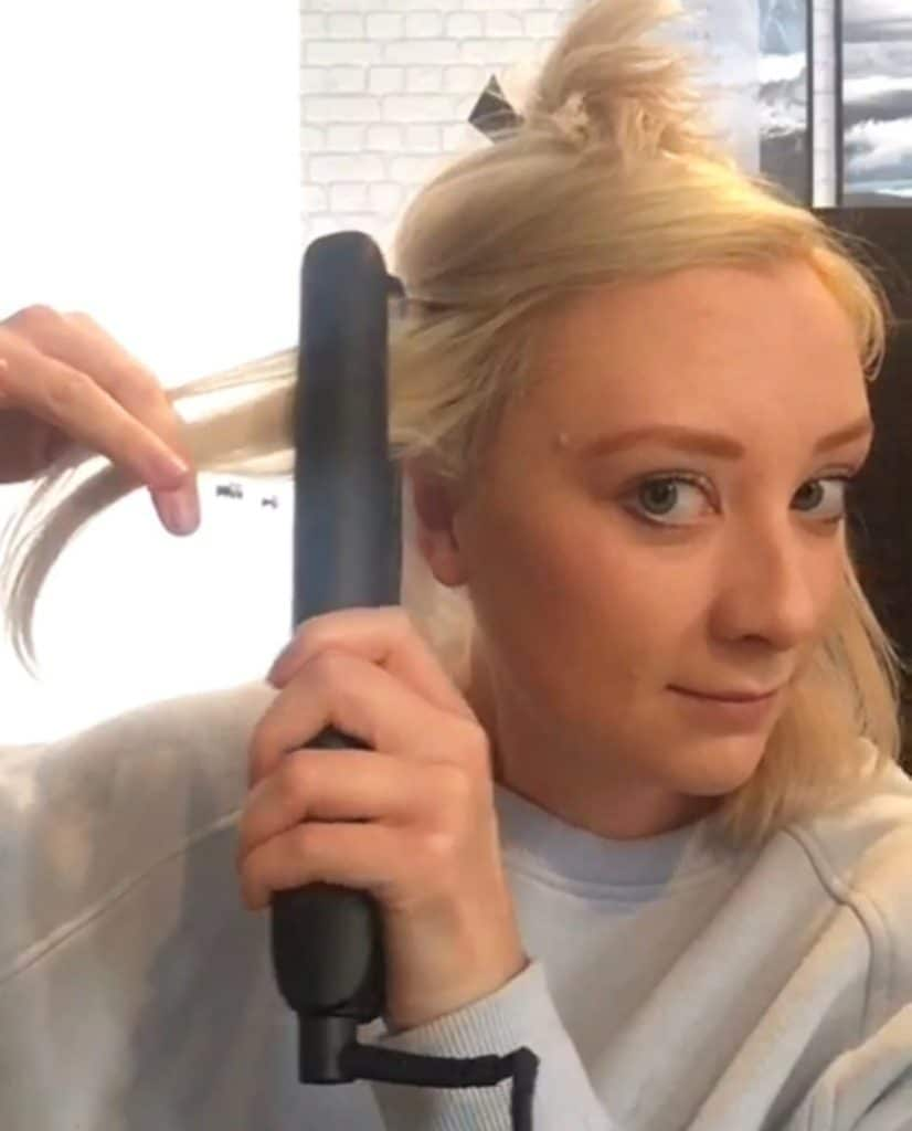 Jess Hair Curling Video