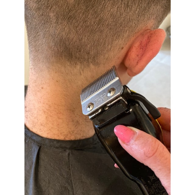 Shaving Males Hair