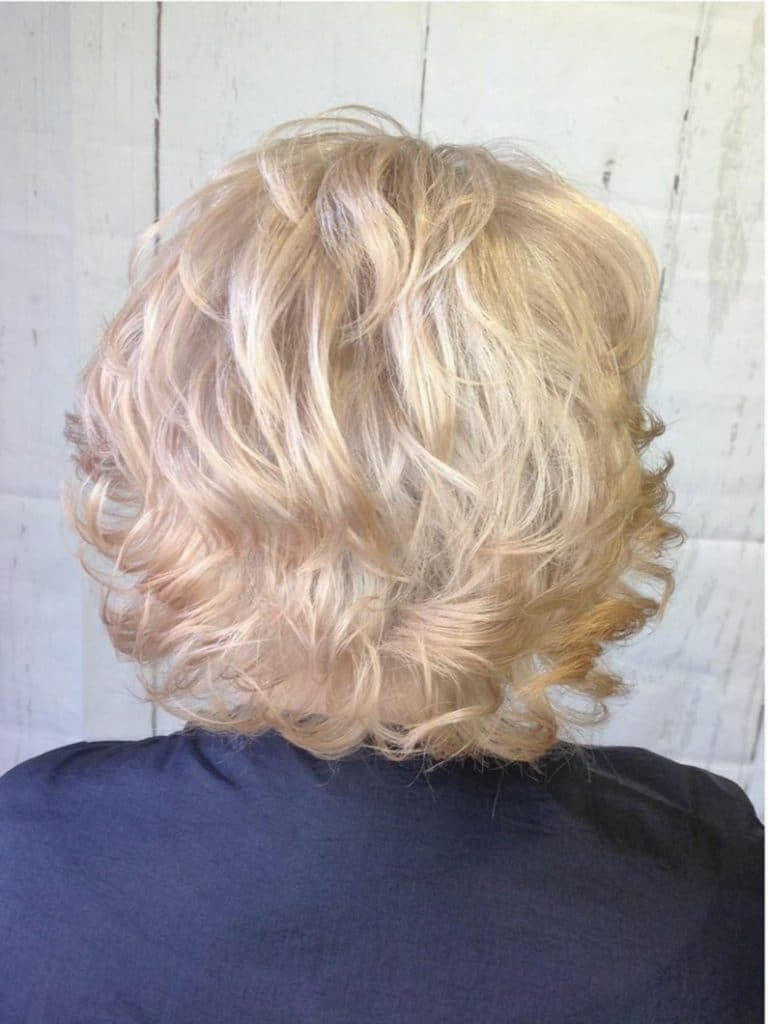 Blonde Hair After Transformation