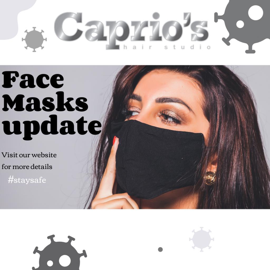 Face Masks Update