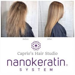 Nanokeratin System Before and After